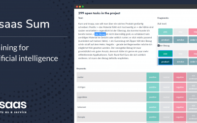 Insaas Sum – the training of Artificial Intelligence