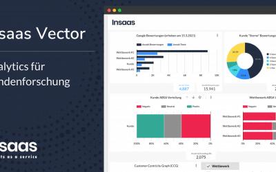 Insaas Vector – Analytics für Kundenforschung