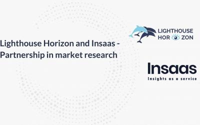 Insaas und Lighthouse Horizon arbeiten künftig im Bereich Marktforschung zusammen